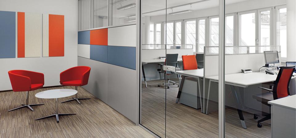 Перегородки для зонирования пространства в офисе по доступной цене